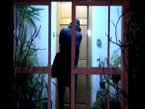 business secretary vince cable arrives home in the wake of his comments to undercover reporters about rupert murdoch - vince cable stock videos & royalty-free footage