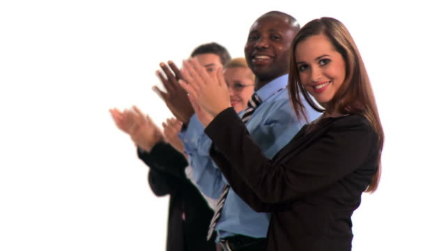 vídeos de stock e filmes b-roll de hd: negócio de sucesso - camisa e gravata