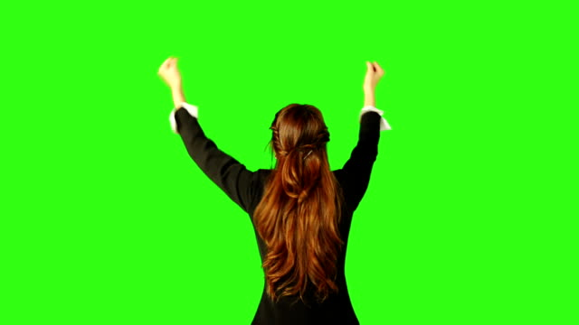business success with green screen background - matte board stock videos & royalty-free footage