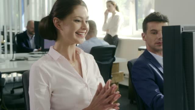Equipe de Negócios no escritório