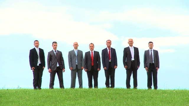 HD-SLOW-MOTION: Business-Team