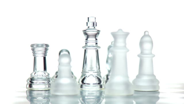 hd loop: business team - chess stock videos & royalty-free footage