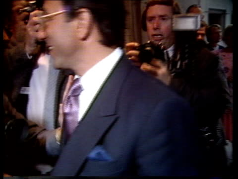 the savoy takeover itn england london savoy hotel av gilt statue of crusader outside hotel pull out as taxi draws up to hotel entrance under canopy... - french horn stock videos and b-roll footage