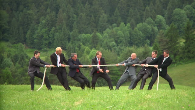 hd: business tug of war - strength stock videos & royalty-free footage