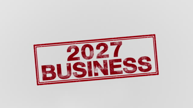 2027 business - annuncio economico video stock e b–roll