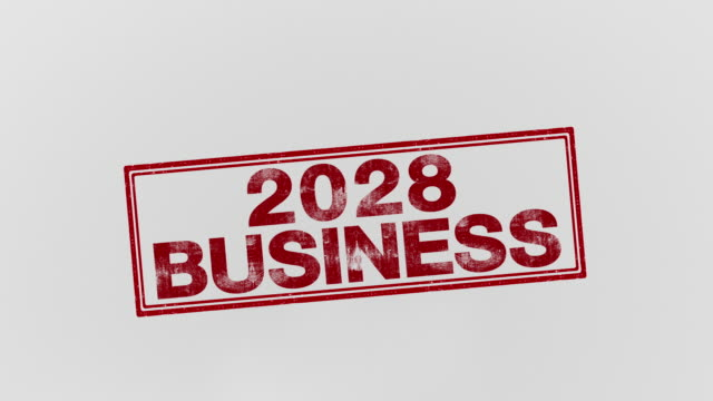 2028 business - annuncio economico video stock e b–roll