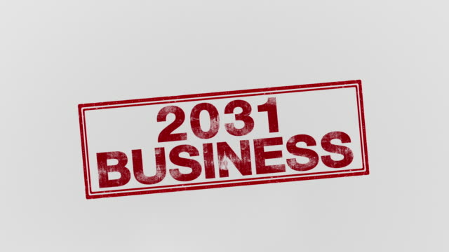 2031 business - annuncio economico video stock e b–roll