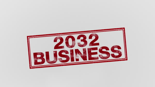 2032 business - annuncio economico video stock e b–roll
