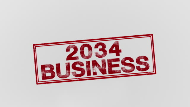 2034 business - annuncio economico video stock e b–roll