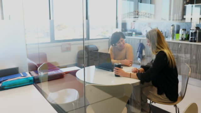 vidéos et rushes de business woman having a job interview - recrutement