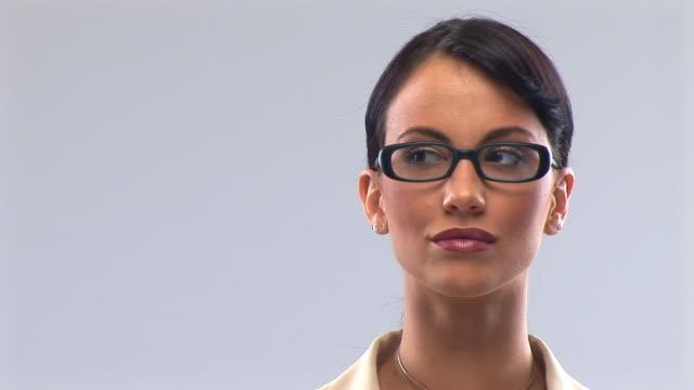 ビジネスの女性 - 絵画モデル点の映像素材/bロール