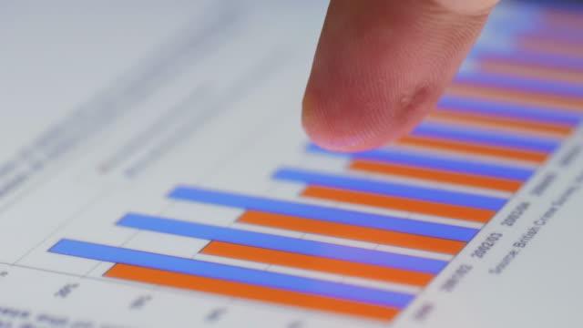 Businessman analyzing market data information on a digital tablet,Close-up