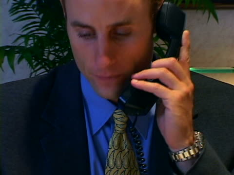 businessman at desk - formal businesswear stock videos & royalty-free footage