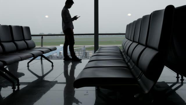 Businessman at Terminal airport