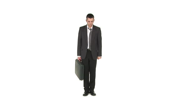 HD: Businessman Feeling Down
