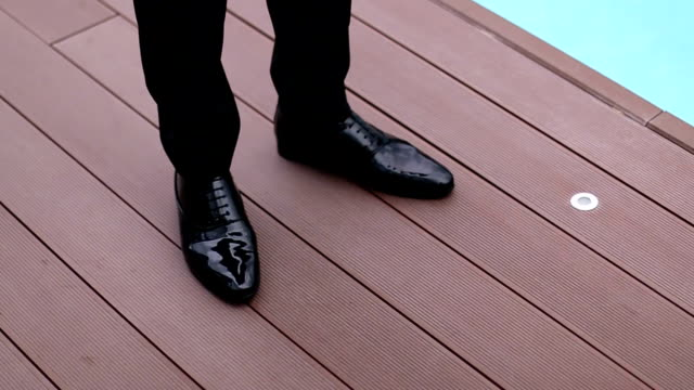 businessman feet - human leg stock videos & royalty-free footage