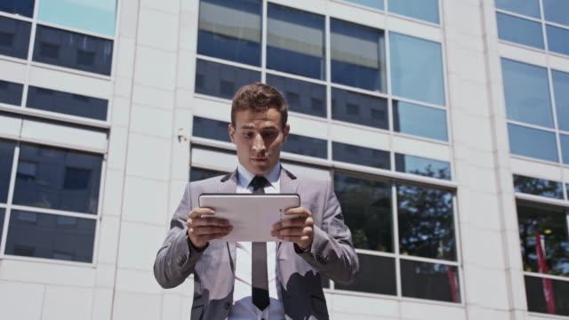 Businessman getting a bad news