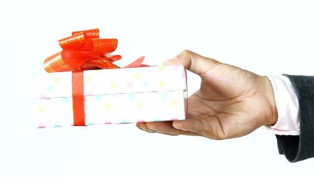 geschäftsmann geschenk - plakette stock-videos und b-roll-filmmaterial