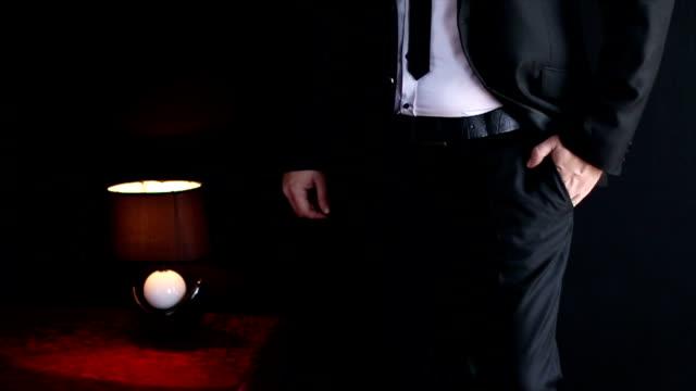 Businessman in a luxury suit
