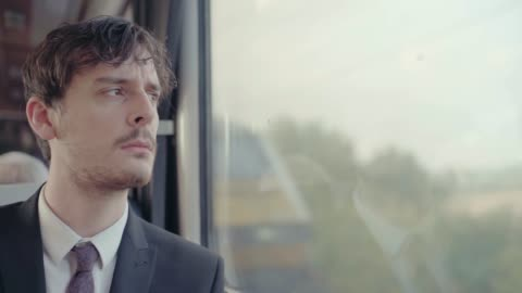 businessman in train - full suit stock videos & royalty-free footage