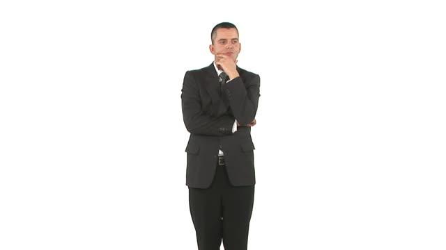 LAZO DE HD: Hombre de negocios mirando