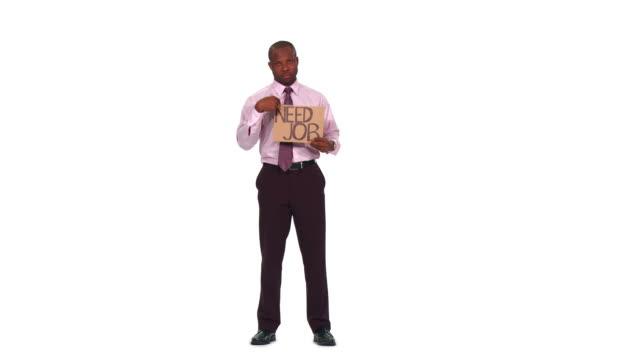 HD: Uomo d'affari che hanno bisogno di un lavoro