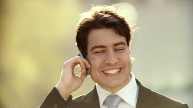 HD: Businessman On The Phone