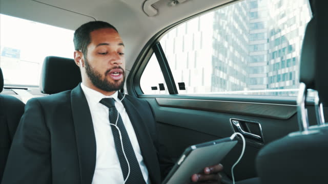 businessman on video call. - video conference stock videos & royalty-free footage