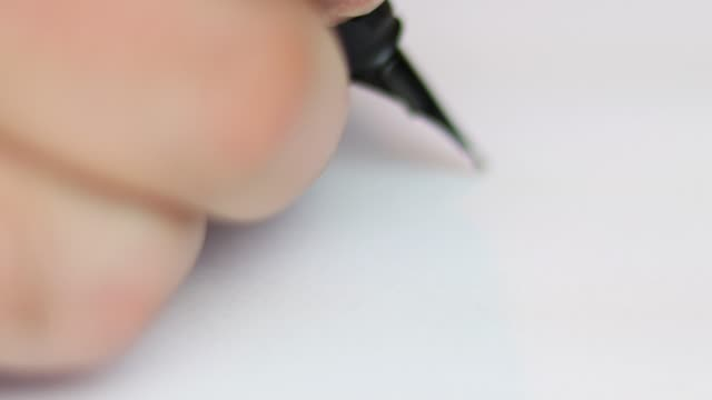 businessman signing business contract agreement, close up of male hand with fountain-pen - fountain pen stock videos & royalty-free footage