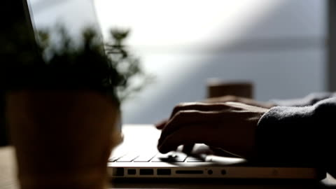 businessman using laptop - obscured face stock videos & royalty-free footage