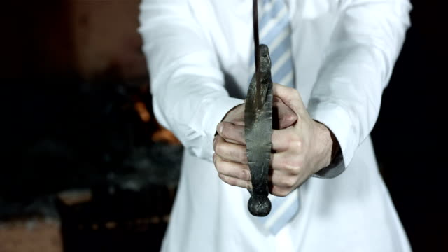 HD: Businessman With A Sword