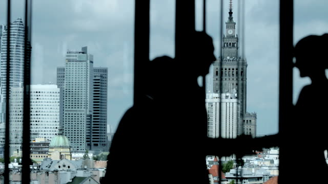 businessmen shaking hands - warsaw stock videos & royalty-free footage