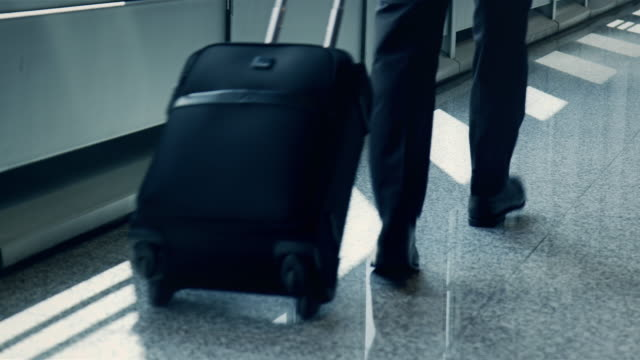 Businesspeople at airport