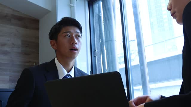 ビジネスの人会議 - 機会点の映像素材/bロール