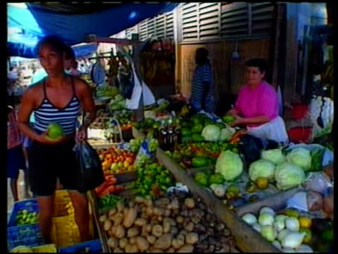 Michael Ashcroft Allegations MS sign Downtown Belize City Drive Safely GV fruit and vegetables stall MS electricity transformer GV telephone exchange...