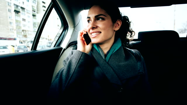 Businesswoman in Car