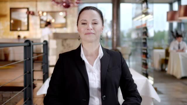 HD: Businesswoman Nodding In Agreement