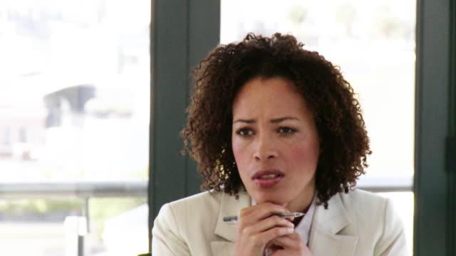 CU Businesswoman speaking, Cape Town, South Africa