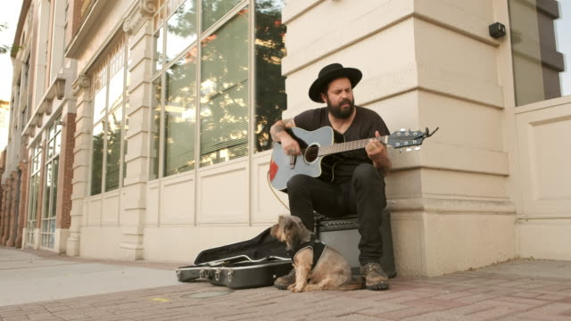 Busking Street Musician