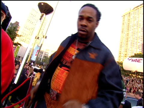 Busta Rhymes Arriving to the 2001 MTV Video Music Awards Red Carpet