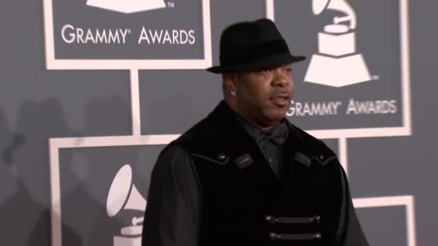 Busta Rhymes at 54th Annual GRAMMY Awards Arrivals on 2/12/12 in Los Angeles CA