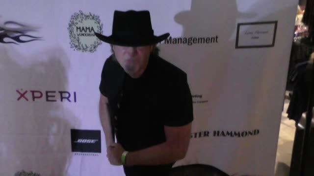 buster akrey at the 5th annual rock godz hall of fame awards at hard rock cafe on october 26 2017 in hollywood california - hard rock cafe stock videos & royalty-free footage