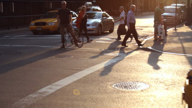 Busy 8th Street Corner