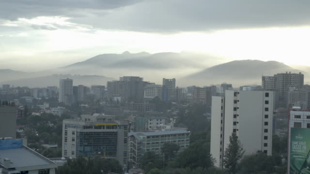 busy city of addis ababa, capital of ethiopia - horn of africa stock videos & royalty-free footage