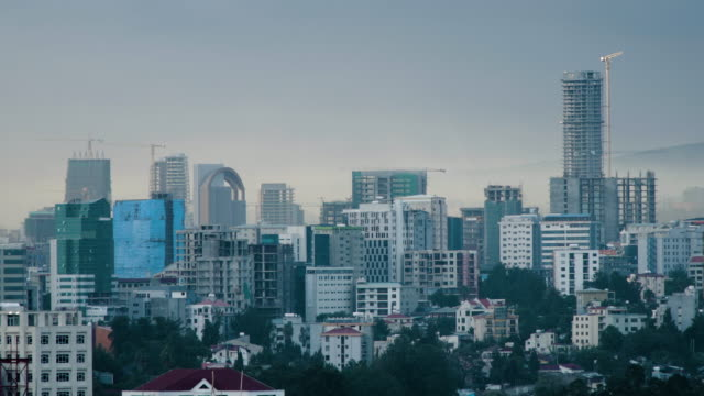 busy city of addis ababa, capital of ethiopia - ethiopia stock videos & royalty-free footage