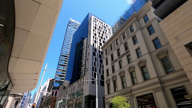 busy city street, people, transport, covid-19 economic recovery, time lapse, sydney - on the move stock videos & royalty-free footage