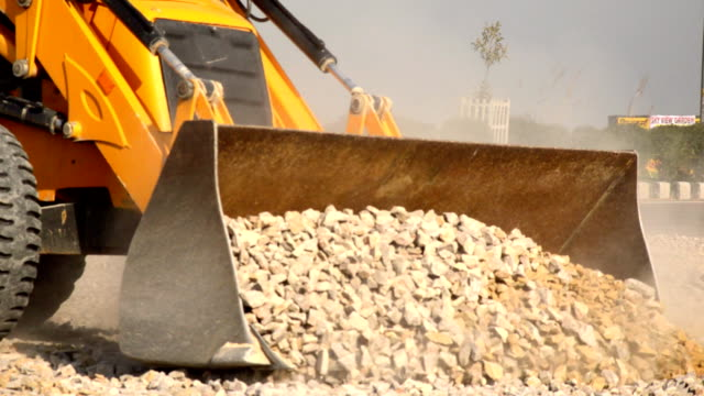 busy construction - construction equipment stock videos & royalty-free footage