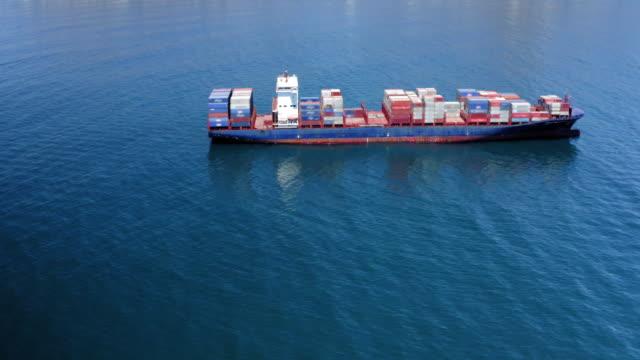 海運業界の忙しい一日 - 船体点の映像素材/bロール