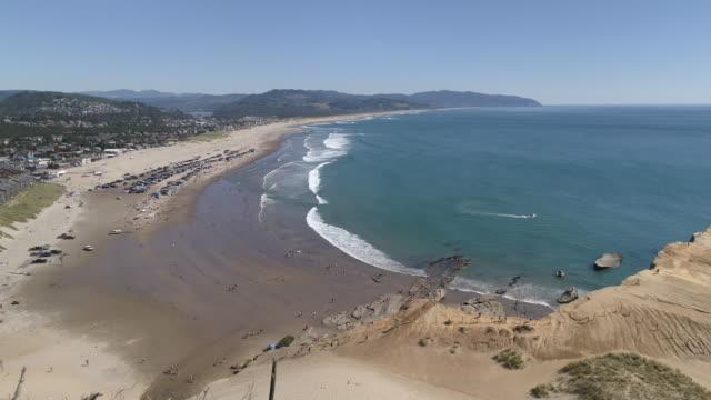 vidéos et rushes de journée bien remplie sur la côte de l'oregon - côte de l'oregon