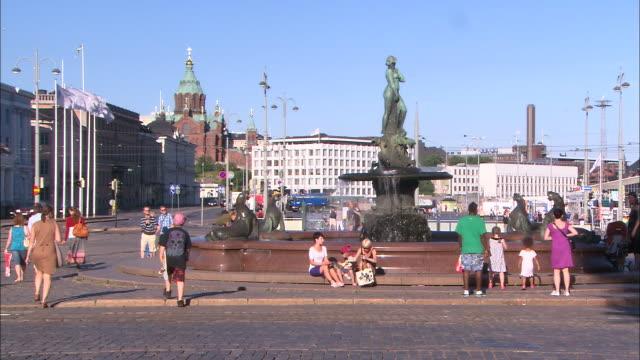 Busy Fountain, Helsinki, Finland